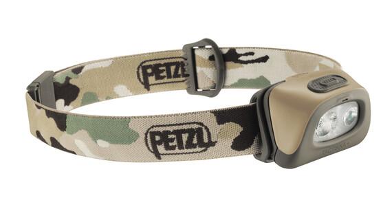 Petzl Tactikka+ hoofdlamp beige/bruin